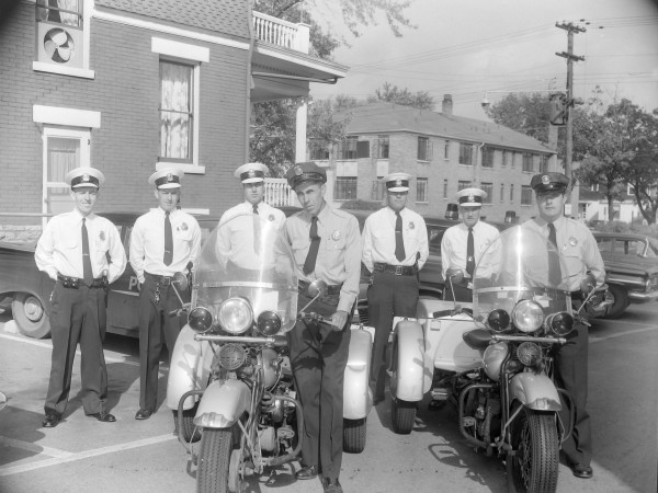 1959: Motor Cycle Police