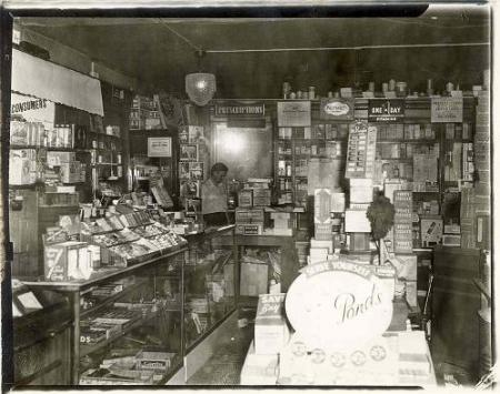 Inside Lawsons Drugstore